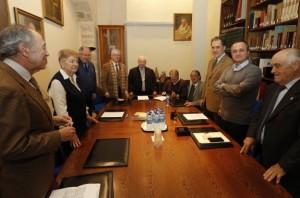 Comunidad Valenciana.Valencia.07/01/2016.Toma de posesion de la nueva junta de gobierno en la Real Academia de Cultura Valenciana.Fotografía de Jesus Signes.