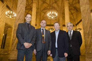 VALENCIA/ Premios de la RACV en la Lonja con el arquitecto valenciano Jose Maria Tomas entre sus premiados